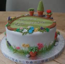 garten torte 60th garden cake flickr photo