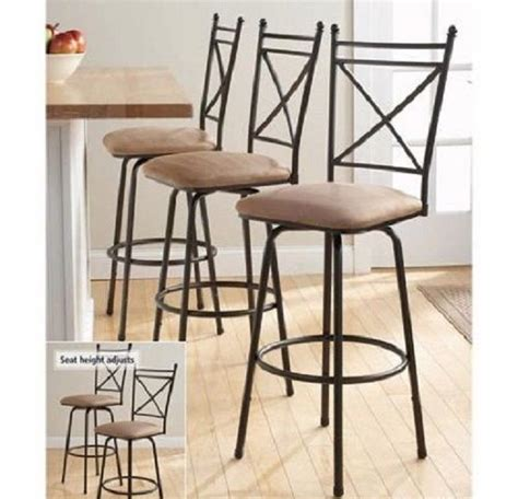 Swivel Bar Stool Sets With Backs Height Stools 24 30 Inch Swiveling Counter New!   eBay