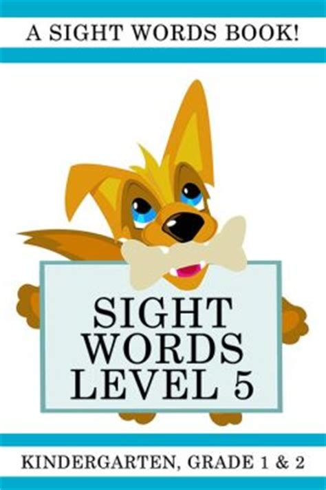 sights books sight words level 5 a sight words book for kindergarten