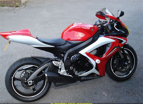 Suzuki Gsx R 600 2007 2007 Suzuki Gsx R 600 Moto Zombdrive