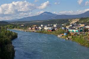 View of whitehorse and yukon river