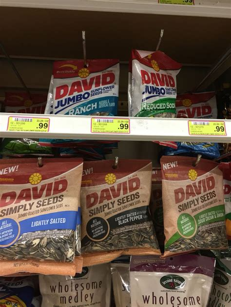 black pepper sunflower seeds david simply seeds lightly salted black pepper sour and sunflower seeds new