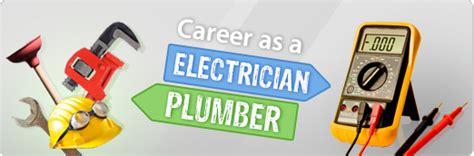 for careers in the trade plumbing electrician