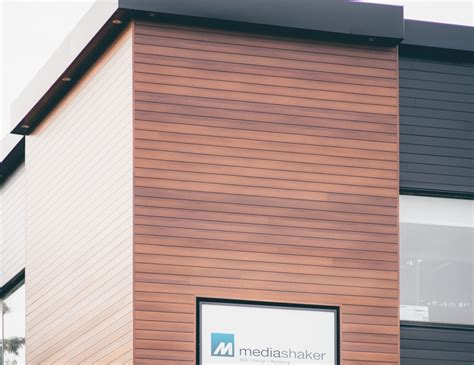 Architectural Siding Panels - prefinished woodgrain metal panels alura imark