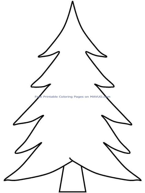christmas tree coloring page preschool coloring sheets christmas tree printable free for