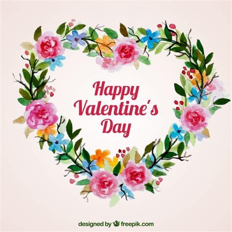 mazzi fiori immagini acquerelli floreali e mazzi di fiori di san valentino