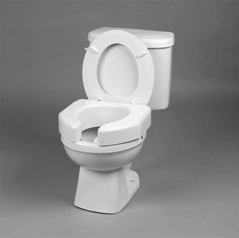 bathroom basic open front elevated toilet seat  high ebay