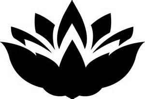 Lotus Silhouette Clipart Lotus Flower Silhouette 3