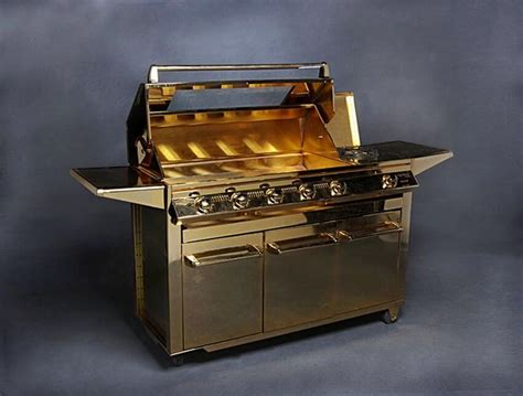 Barbeque Grill Price by 1 Beefeater Gold Plated Barbeque Grill Price 164 000