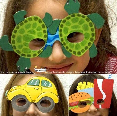 imagenes gafas locas gafas de carnaval manualidades infantiles