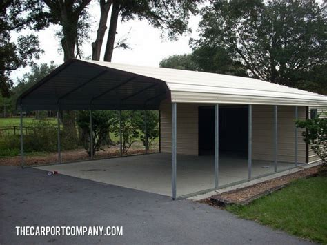 shop port metal carport the carport company - Carport Shop
