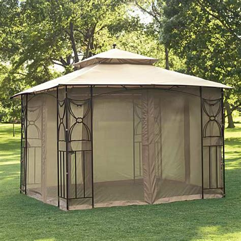 gazebo netting walmart home casual colonial replacement canopy and