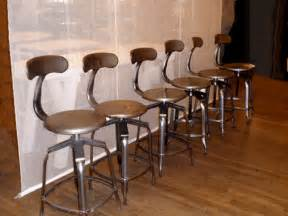 Bathroom Deco Ideas vintage industrial bar stools backless vintage