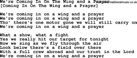 song lyrics in prayer songs in with lyrics