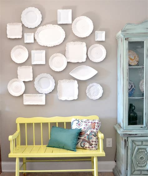 Wall Plate Decor by Diy Plate Wall Inspiration Tutorial