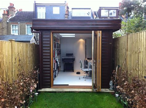 fabitecture modern shed design and finishing room warwick offices warwick garden office garden rooms