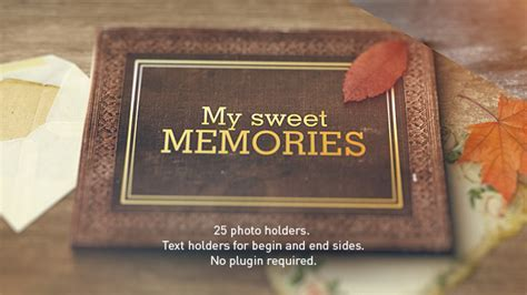 Old Memories Album Gallery by BlueBeardStudio   VideoHive
