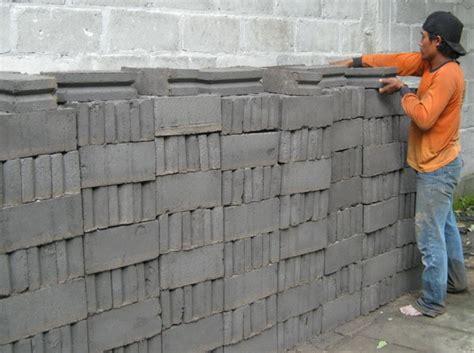 Harga Cetakan Batako Kecil informasi harga bahan bangunan tips memilih batako