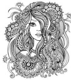 hair dreams coloring book for adults books v 253 sledek obr 225 zku pro omalov 225 nky skř 237 tka color me