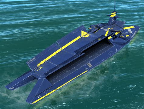 japanese catamaran aircraft carrier show off your creations page 16 keen software house