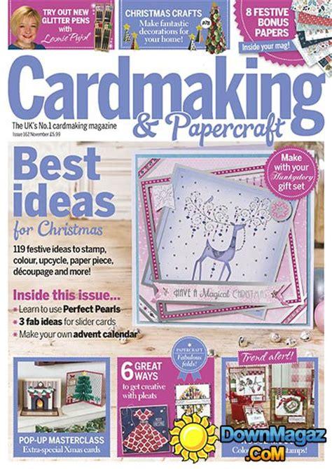 Cardmaking And Papercrafts Magazine - cardmaking papercraft november 2016 187 pdf