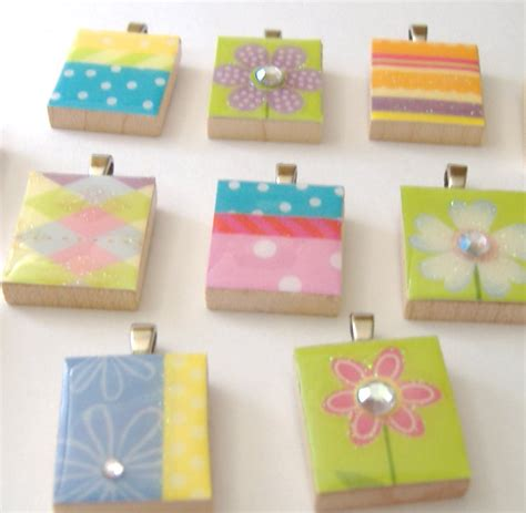 scrabble tile crafts how to make a scrabble tile pendant think crafts by