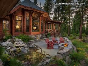 custom home in truckee luxury homes house backyard