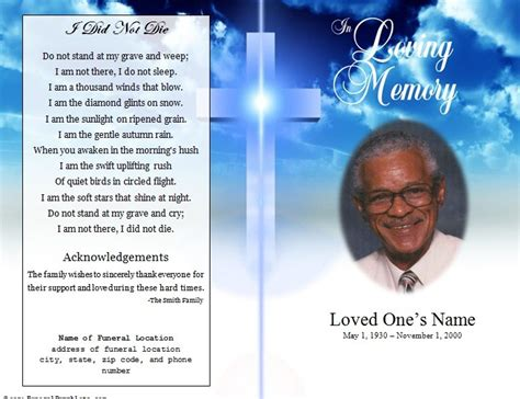 doc 520425 downloadable funeral bulletin covers