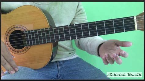 tutorial belajar gitar dari awal belajar gitar lagu dari mata jaz youtube