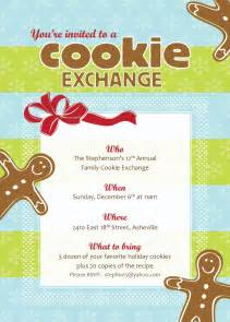Cookie Exchange Recipe Card Template by Best Photos Of Cookie Exchange Sign Up Template