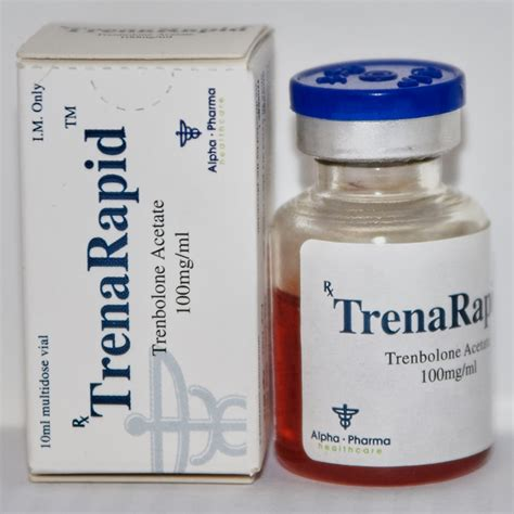 Trenbolone Acetate Acetat Alpha Pharma Trenrapid Tren A Tren Ace trenarapid trenbolone acetate 100mg 1ml 1vial 10ml
