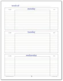 Student Weekly Planner Template Getting Ready For Back To School Student Planner Printables