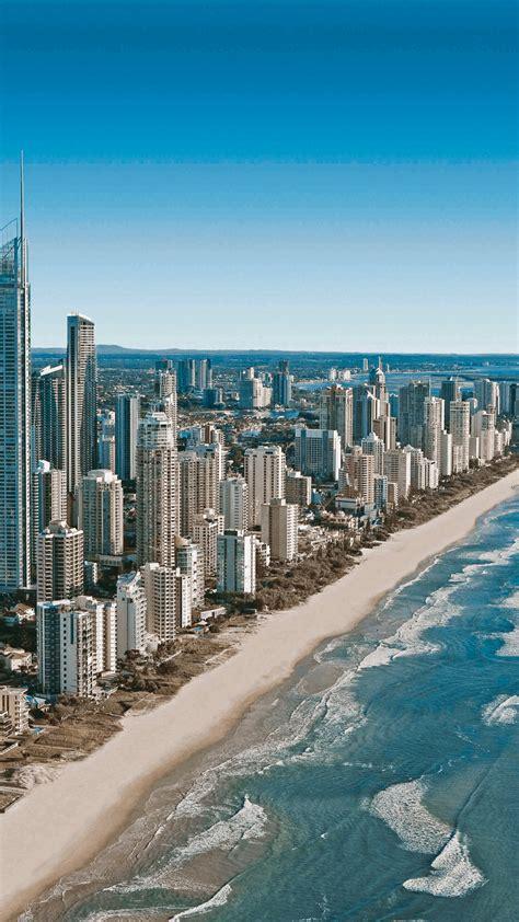 gold coast skyline iphone wallpaper idrop news