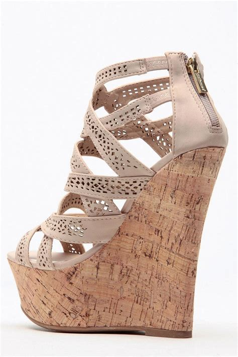 Wedges Laser Ls06 24 laser cut ahead cork wedges cicihot wedges shoes store wedge shoes wedge boots