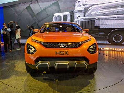 Indian Home Interior by Tata H5x Concept Front At Auto Expo 2018 Indian Autos Blog