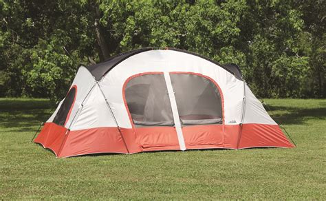 10x12x5ft magnum wall tent and angle kits texsport bull canyon two room cabin dome tent