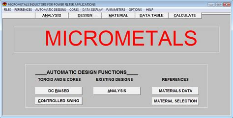 ac inductor design micrometals inductor design 28 images specifications of inductor 28 images micrometals ac