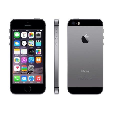 iphone 5s 16gb gray boost mobile grade b walmart