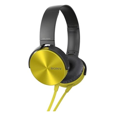 Headseat Sony Mdr Xb450 sony mdr xb450 price specifications features reviews