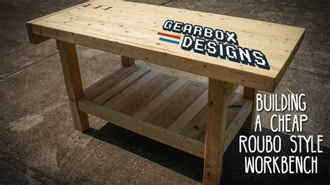 cheap work benches building a cheap roubo style workbench woodworking with bruce