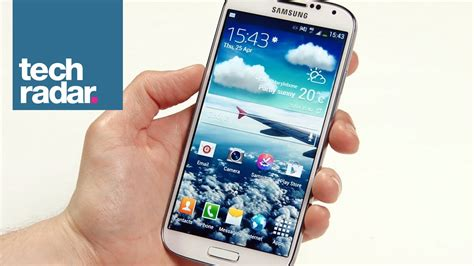 samsung galaxy s4 review techradar samsung galaxy s4 review walkthrough youtube