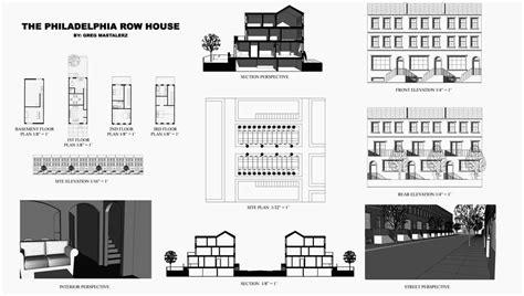 philadelphia row house floor plan philadelphia row house floor plan quotes