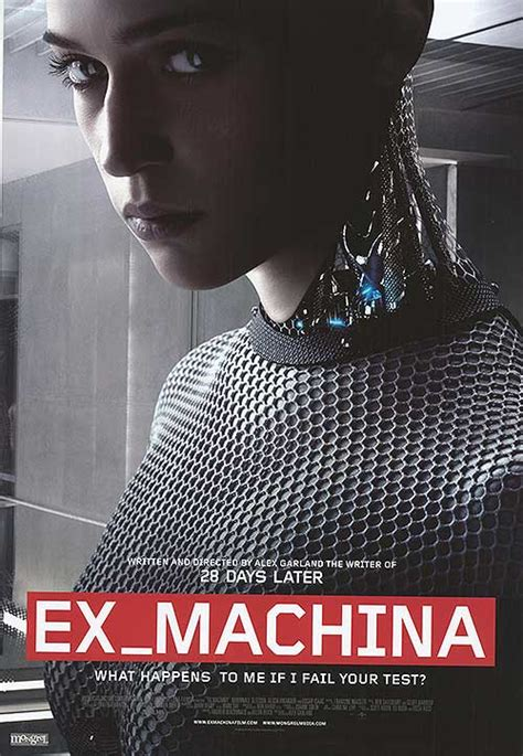 ex machina cast ex machina movie posters at movie poster warehouse
