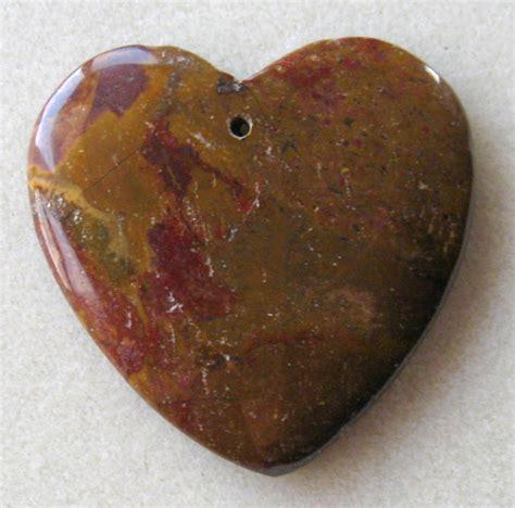 multi color jasper gemstone pendant by