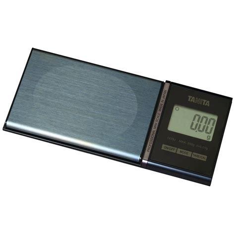 tanita professional mini pocket digital scales with ic tag