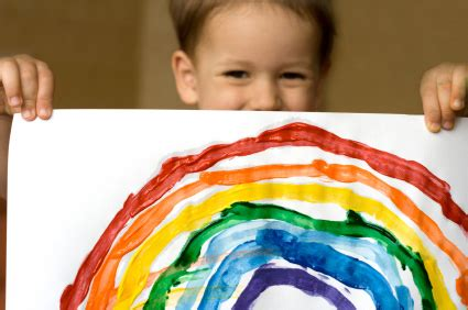 rainbow children the art 1616558334 watercolor rainbows lesson plan painting for kids kinderart