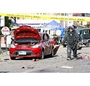 Philippine President Visits Survivors In Blast Hit Port