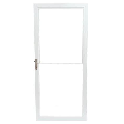 andersen windows and doors store andersen 36 in x 80 in 2500 series white universal self