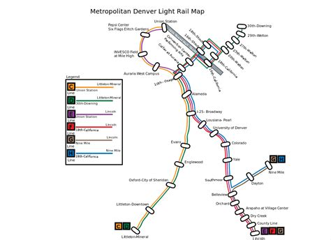 denver light rail stops denver light rail map bnhspine com