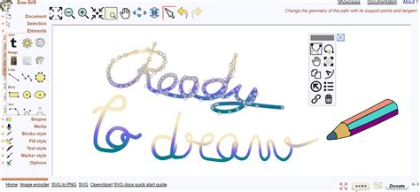 drawing web page drawsvg the free drawing application